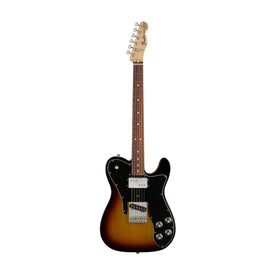 Fender Classic Series 72 Telecaster Custom Electric Guitar w/Gig Bag, Pau Ferro FB, 3-Tone Sunburst