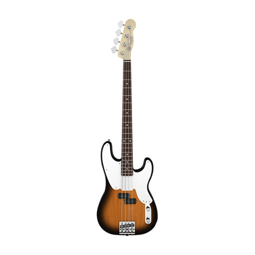 Fender Artist Mike Dirnt Precision Bass Guitar, RW Neck, 2-Tone Sunburst