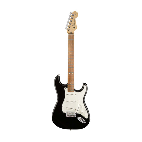 Fender Standard Stratocaster Electric Guitar, Pau Ferro FB, Black