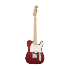 Fender Standard Telecaster Guitar, Maple Neck, Candy Apple Red