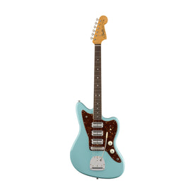 Fender 60th Anniversary Triple Jazzmaster Electric Guitar, RW FB, Daphne Blue