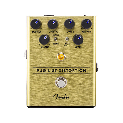 Fender Pugilist Distortion Guitar Effects Pedal