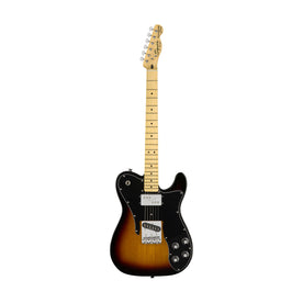 Squier Vintage Modified Telecaster Custom Electric Guitar, 3-Tone Sunburst
