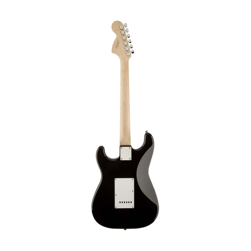 Squier Affinity Stratocaster Electric Guitar, Maple FB, Black