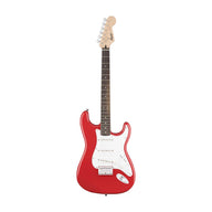 Squier Bullet Stratocaster Hardtail Electric Guitar, Rosewood FB, Fiesta Red (B-Stock)
