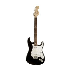 Squier Affinity Stratocaster Electric Guitar, Laurel FB, Black