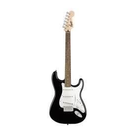 Squier Stratocaster Electric Guitar Pack w/Gig Bag & Frontman 10G Amp, Black, 230V EU