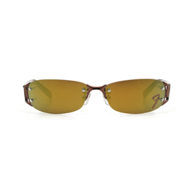 Fender Eyewear 015E 06 Sunglasses, Matte Brown