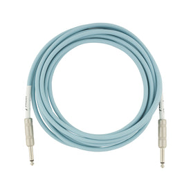 Fender Original Series Instrument Cable, 10ft, Daphne Blue
