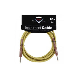 Fender Custom Shop Instrument Cable 10ft, Tweed