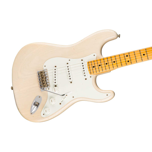 Fender Custom Shop Eric Clapton Signature Journeyman Relic Electric Guitar, Aged White Blonde