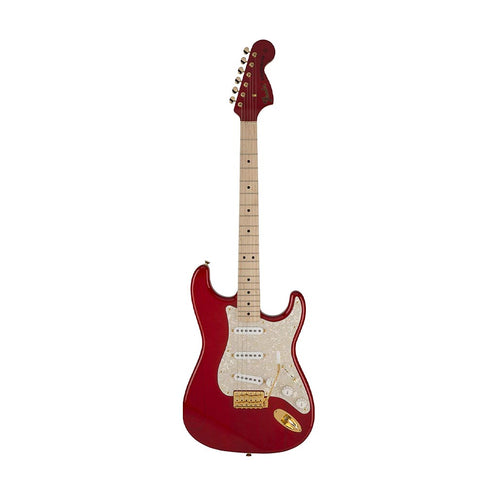 Fender Japan Scandal Mami Signature Stratocaster Electric Guitar, Red