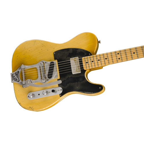 Fender Custom Shop Masterbuilt Paul Waller Bob Bain 'Son of a Gunn' Telecaster Guitar, Nocaster Blonde
