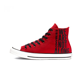 Converse Chuck Taylor All Star HI Enamel Sneaker, Red/Black/White