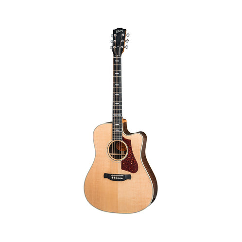 Gibson 2018 Hummingbird Rosewood AG Acoustic Guitar w/Case, Antique Natural