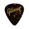 Gibson APRT12-74T Tortoise Picks, 12 Pack, Thin
