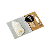 Gibson APRW12-74M Pearloid White, 12 Pack,Medium
