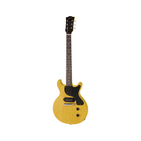 Gibson Custom 1958 Les Paul Junior Model Reissue Electric Guitar w/Case, TV Yellow
