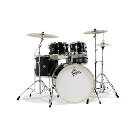 Gretsch GE4E825B Energy 5-Piece Drum Kit w/Hardware(22inch BD), No Cymbals, Black
