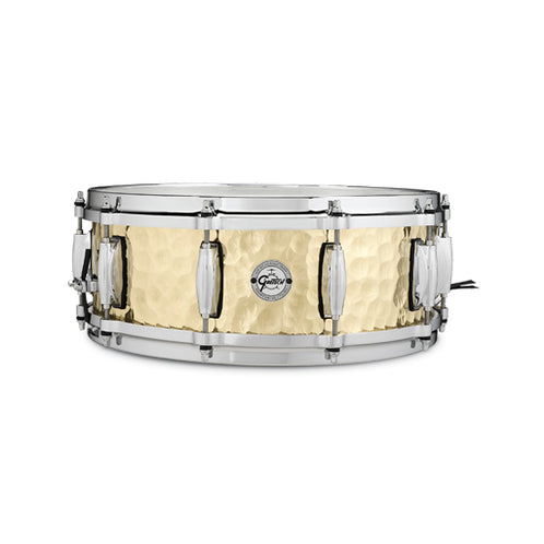 Gretsch S1-0514-BRH 5x14inch Hammered Brass Snare Drum
