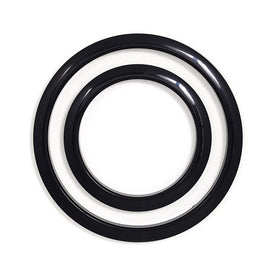 Gibraltar SC-GPHP-6B 6inch Port Hole Protector Ring, Black