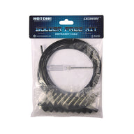 Hotone Solder-free Patch Cable, 10 plugs & 2m cable