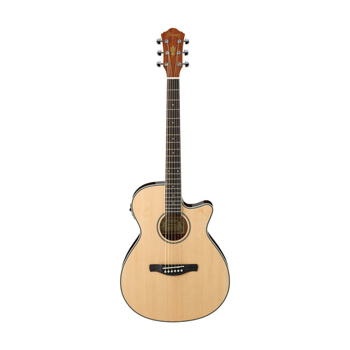 Ibanez AEG8E-NT Acoustic Guitar, Natural (B-Stock)