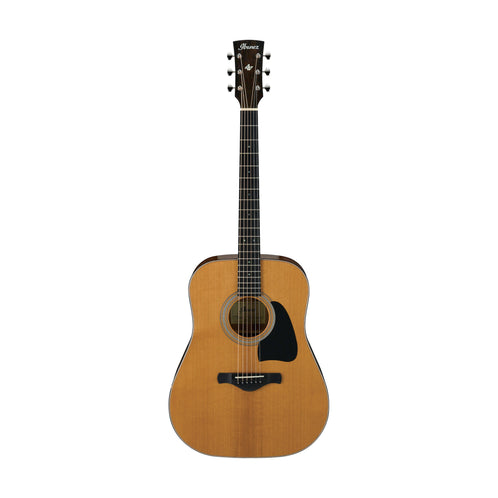 Ibanez AVD60-NT Artwood Vintage Thermo Aged Acoustic Guitar, Natural High Gloss