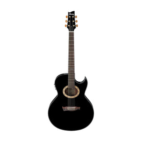 Ibanez EP5-BP Steve Vai Signature Acoustic/Electric Guitar, RW Neck, Black Pearl