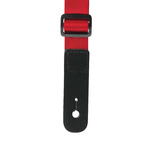 Ibanez GSF50-RD Powerpad Guitar Strap, Red