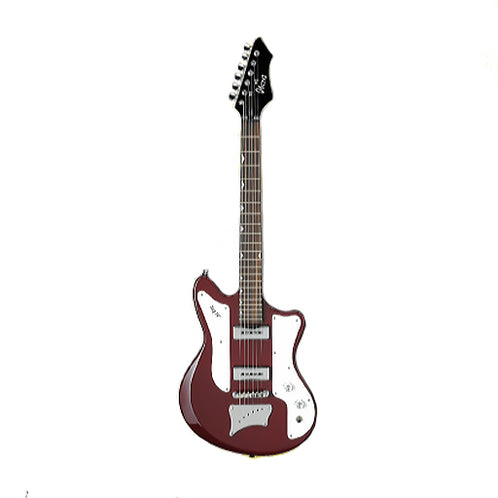 Ibanez JTK3-RBE Jet King Electric Guitar, Red Bean