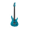 Ibanez S5521Q-TAB S Prestige Electric Guitar w/Case, Transparent Aqua Blue