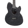 Ibanez TCM50-GBO Talman Acoustic Guitar, Galaxy Black Open Pore