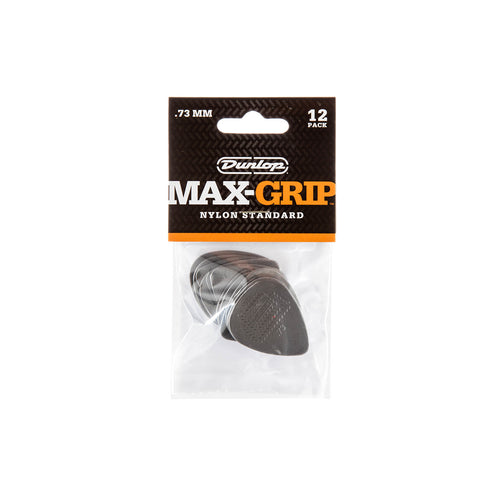 Jim Dunlop 449P .73mm Nylon Max Grip Pick, 12-Pack