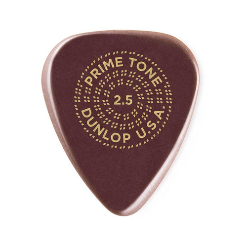 Jim Dunlop 511P 2.5 Primetone Standard Pick, 3-Pick Player's Pack