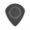 Jim Dunlop AALP04 .73 Javier Reyes Tortex Jazz III XL Guitar Pick, Black, 6-Pick Player's Pack