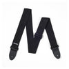 Jim Dunlop D07-01BK Poly Guitar Strap, Black