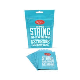 Kyser String Cleaning Wipe, 10 Pack