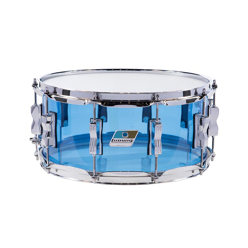 Ludwig LS901VXX55 5x14inch Vistalite Snare Drum, Blue