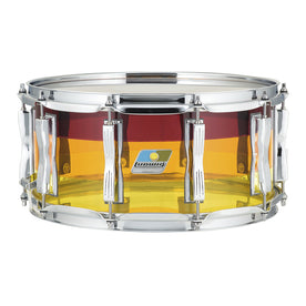 LUDWIG LS903VXXTS 6.5x14inch Vistalite LIMITED EDITION Snare Drum, Tequila Sunrise