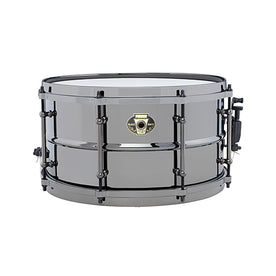 Ludwig LW0713C 7x13inch Black Magic Snare w Chrome Hardware and 2.3mm Hoops