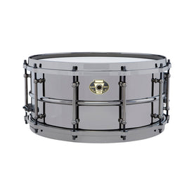Ludwig LW6514DIR 6.5x14inch Black Magic Snare w Black Nickle Hardware and Die-Cast Hoops