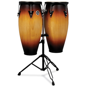 Latin Percussion LP646NY-VSB 10&11inch City Conga Set, Vintage Sunburst