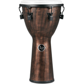 Latin Percussion LP727C 12.5inch FX Djembe, Mechanical Tuned, Synthetic Shell, Copper