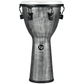 Latin Percussion LP727G 12.5inch FX Djembe, Mechanical Tuned, Synthetic Shell, Gray