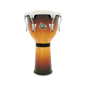 Latin Percussion LPA632-VSB 12-1/2inch Aspire Bowl-Shaped Djembe, Vintage Sunburst/Chrome Hardware