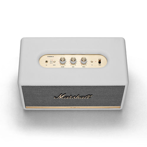 Marshall Stanmore II Bluetooth Speaker, White, EU/UK
