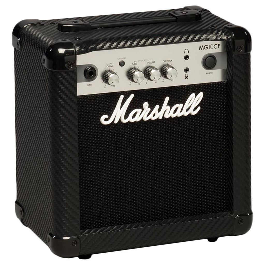 Marshall Mg10cf Carbon Fibre Series 10w Combo Guitar Amplifier Mini Audio Swee Lee Singapore