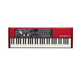 Nord Electro 5D 61 Semi Weighted Waterfall Stage Piano