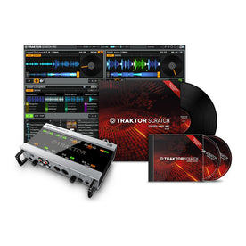 Native Instruments Traktor Scratch A10 Digital Vinyl System
